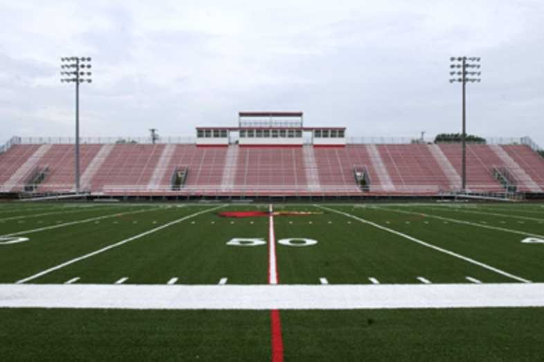 Football Bleachers - Webb City R-7 School District