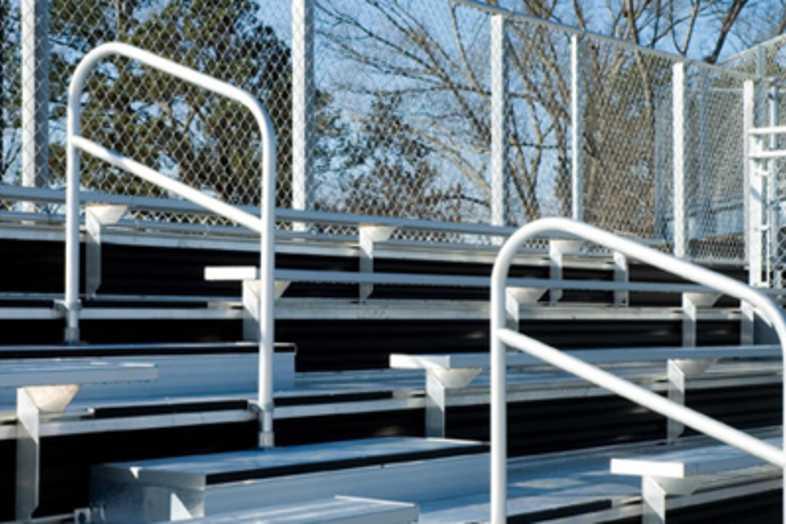 Softball Bleachers - University of Southern Mississippi
