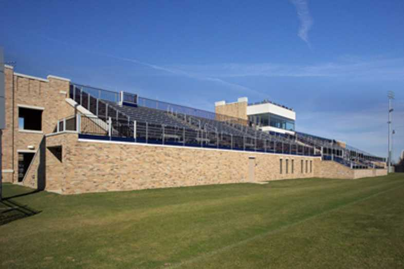 Soccer Bleachers - Univeristy of Notre Dame