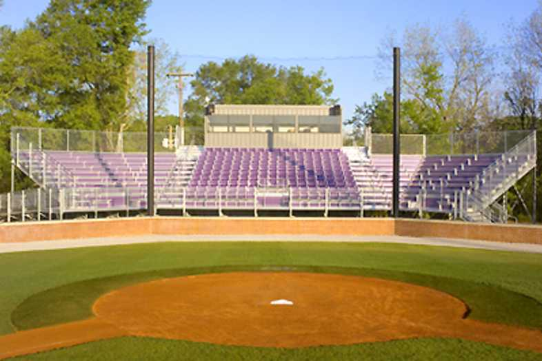Baseball Bleachers - University of Montevallo