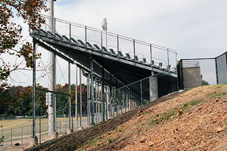 Football Bleachers - Statesboro High School