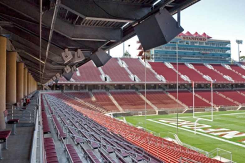 Football Bleachers - Stanford Univeristy