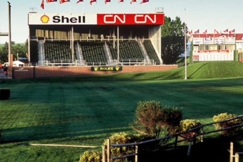 Fairgrounds Bleachers - Spruce Meadows