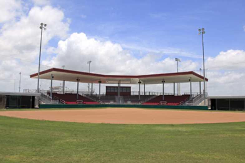 Softball Bleachers - Sinton ISD