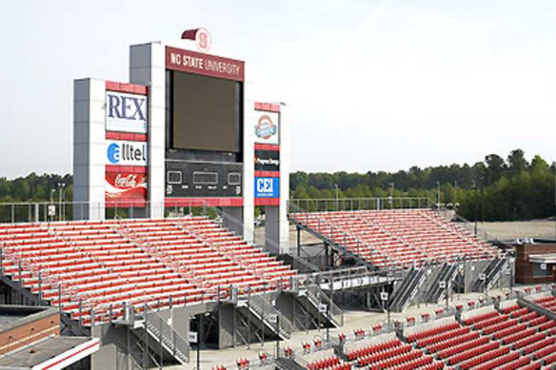 Football Bleachers - North Carolina State University (NC State)