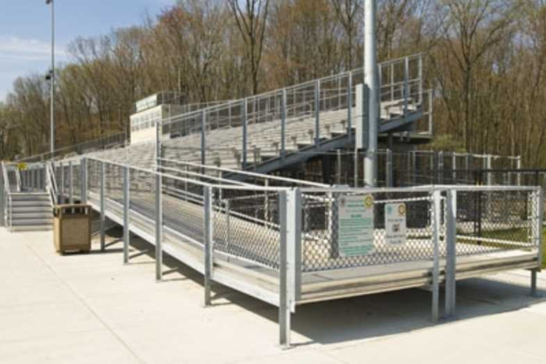 Football Bleachers - Livingston Board of Education