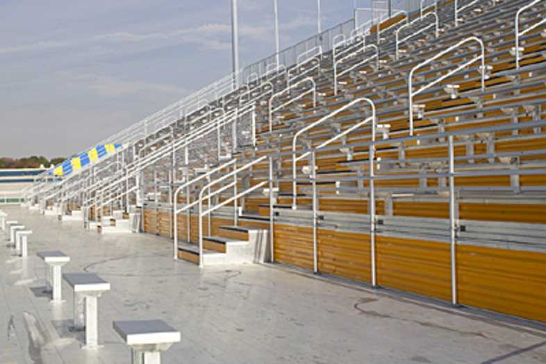 Football Bleachers - Kent State University