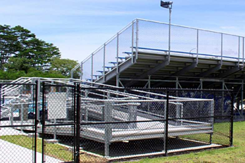 Football Bleachers - Kea'au Hawaii