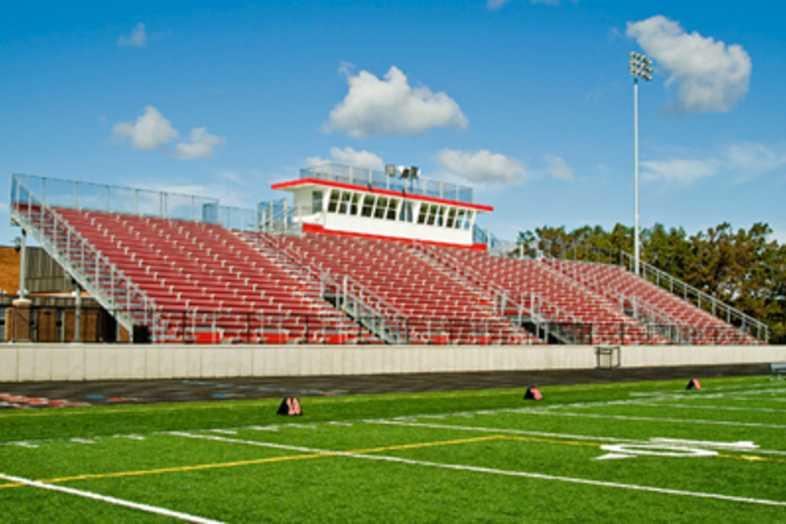Football Bleachers - Holton High School