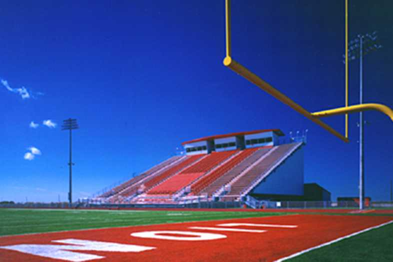 Football Bleachers - Greenville ISD