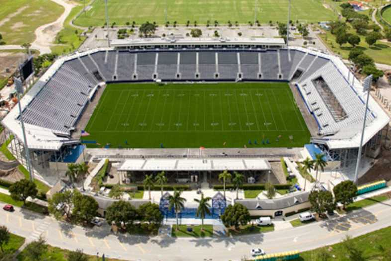 Football Bleachers - Florida International University