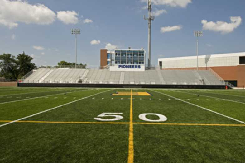Football Bleachers - East Grand Rapids Public Schools