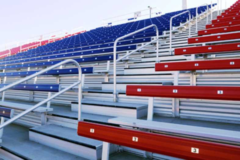 Football Bleachers - Colorado State University