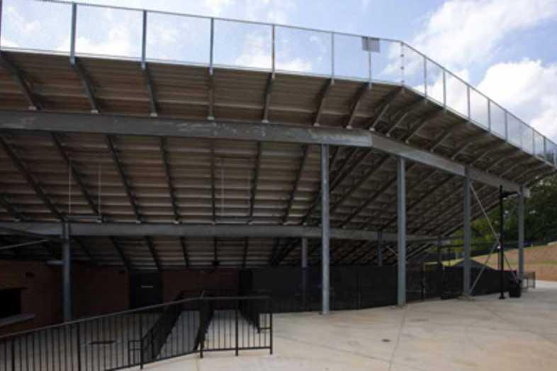 Football Bleachers - Carrollton City School