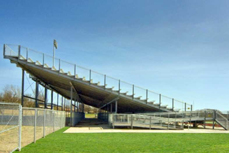 Football Bleachers - Bowie ISD