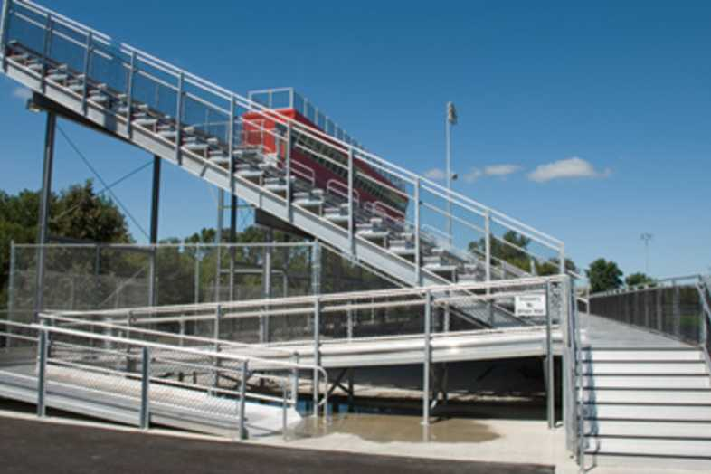 Football Bleachers - Barrington CUSD