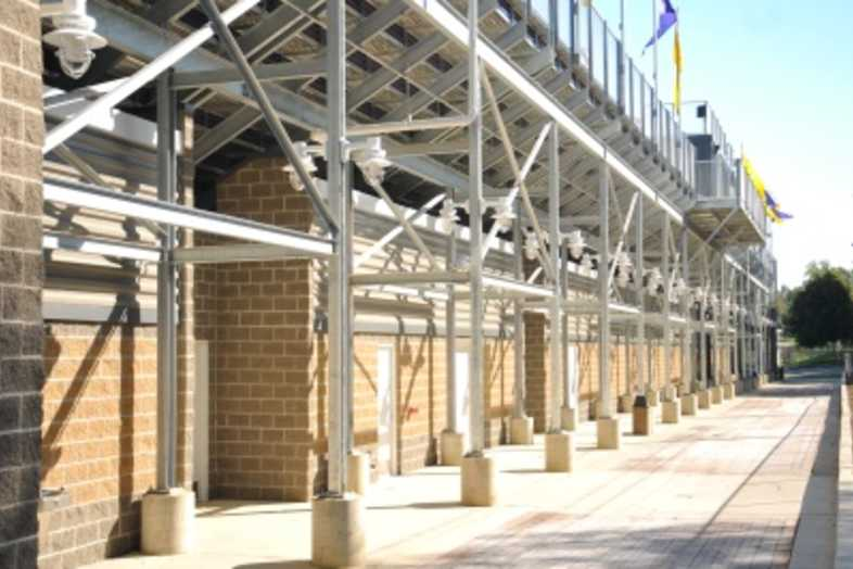 Football Bleachers - Bloomington, IL Public Schools