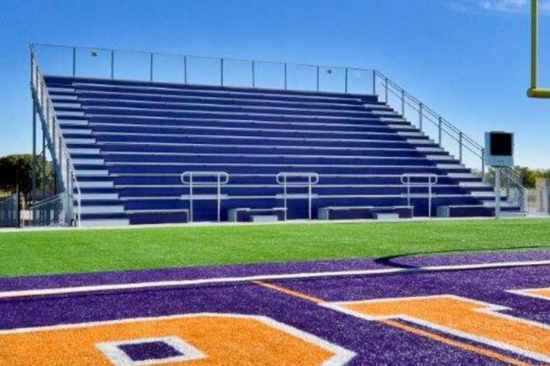 Granbury Independent School District - Band Bleacher - 1