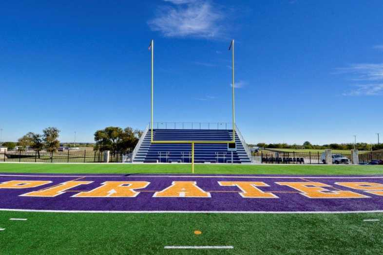 Granbury Independent School District - Band Bleacher - 2
