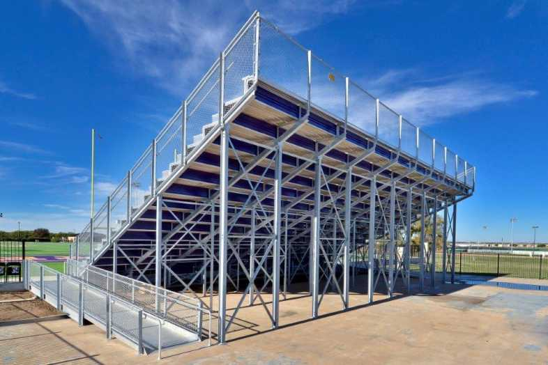 Granbury Independent School District - Band Bleacher - 3
