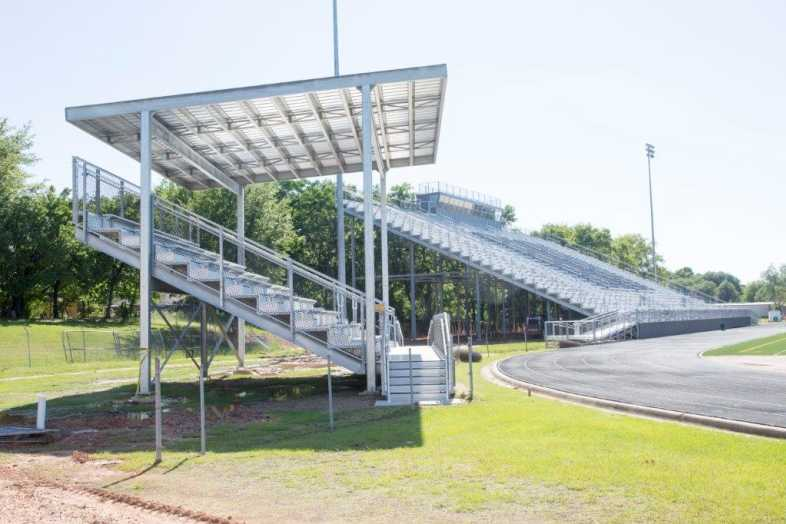 PITTSBURG INDEPENDENT SCHOOL DISTRICT - BAND BLEACHERS - 4