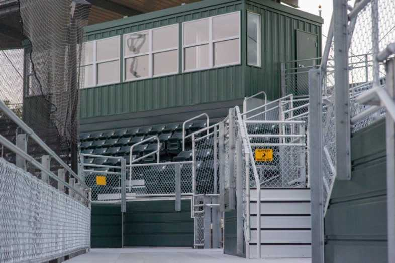 Delta State University - Baseball Bleachers - 3