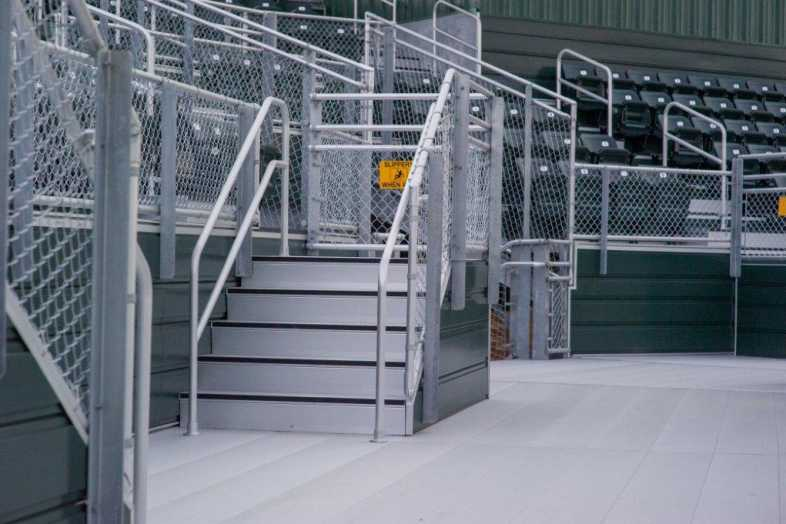 Delta State University - Baseball Bleachers - 4
