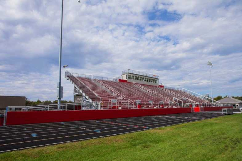 PLYMOUTH COMMUNITY SCHOOL CORPORATION - Football Field - Built by Southern Bleacher