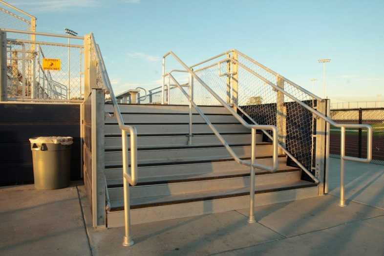 Santa Ana Unified School District - Football Bleachers - 10