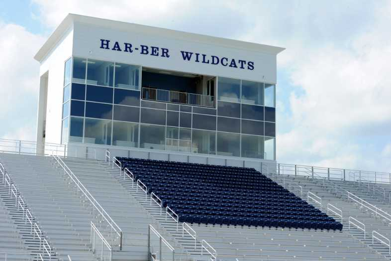 Har-Ber High School Stadium Bleachers - 8