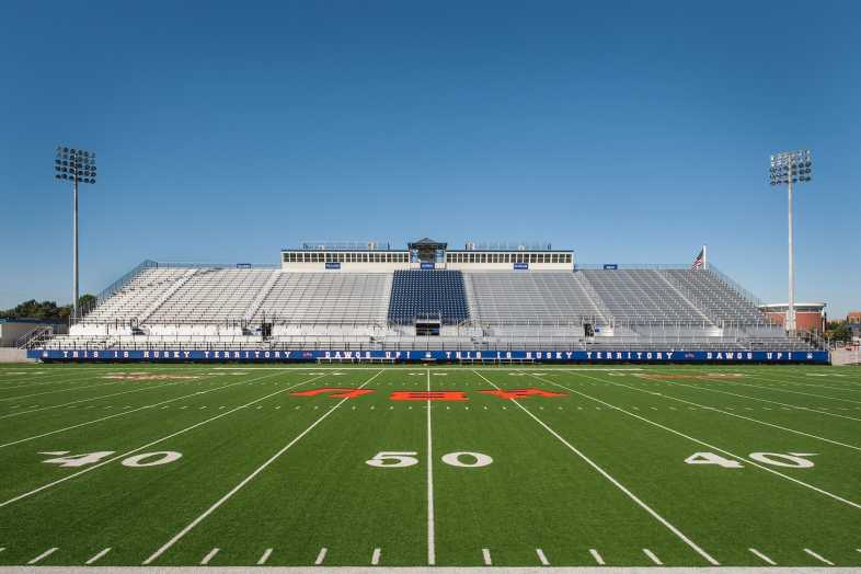 Houston Baptist University Football Bleachers - 11