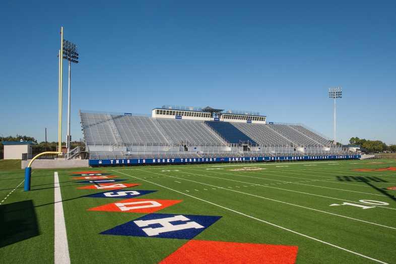 Houston Baptist University Football Bleachers - 12