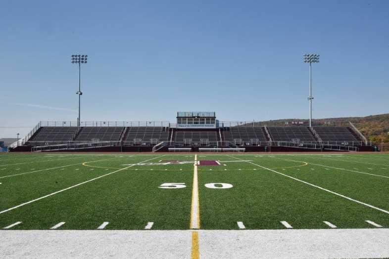 Lehighton Area School District - Football Field - Built by Southern Bleacher - 1