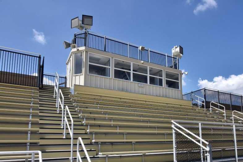 Donegal School District - Football Bleachers - Built by Southern Bleacher - 7