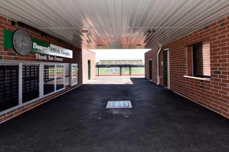 Donegal School District - Football Bleachers - Built by Southern Bleacher - 9