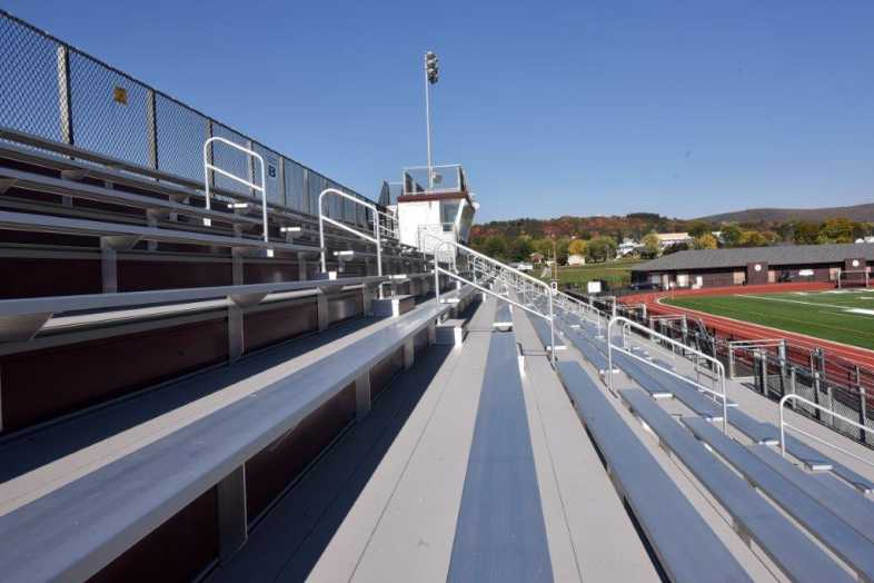 Lehighton Area School District - Football Field - Built by Southern Bleacher - 6