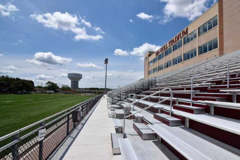 Salisbury University - Football Stadium - Southern Bleacher - 4