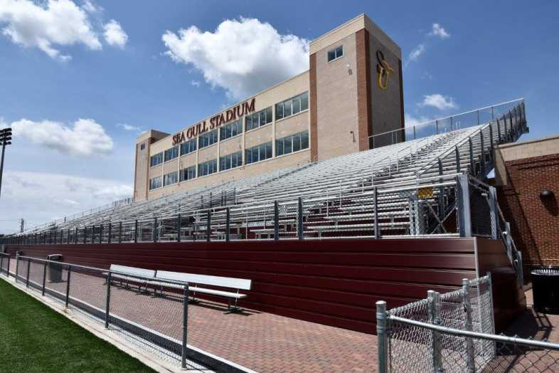 Salisbury University - Football Stadium - Southern Bleacher - 5