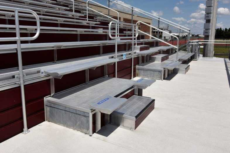 Salisbury University - Football Stadium - Southern Bleacher - 3