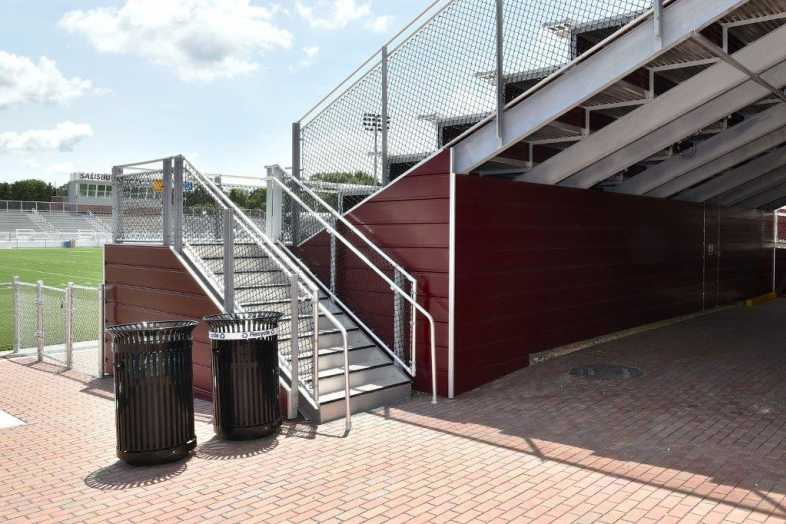 Salisbury University - Football Stadium - Southern Bleacher - 6