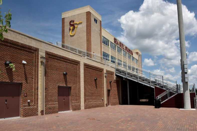 Salisbury University - Football Stadium - Southern Bleacher - 9