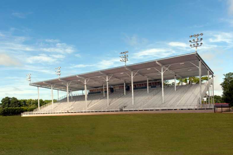 Lawrenceburg Fairgrounds Bleachers - 2