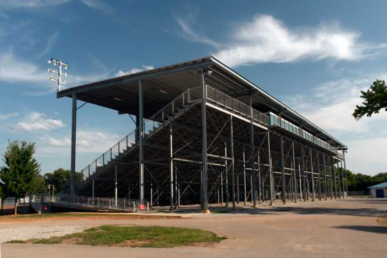 Lawrenceburg Fairgrounds Bleachers - 4