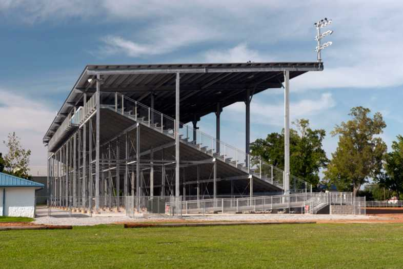 Lawrenceburg Fairgrounds Bleachers - 5