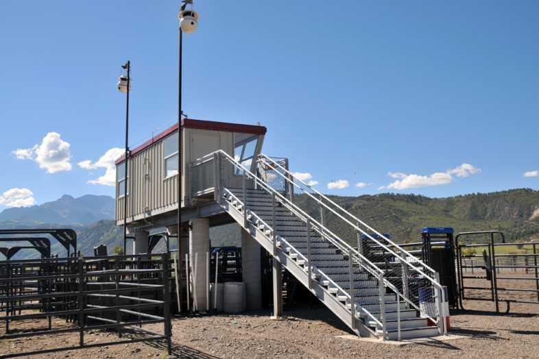 Ouray County Fairgrounds Bleachers - 6