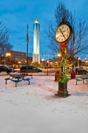 Easton Peace Candle 02 - Discover Lehigh Valley Holidays - Hub Wilson