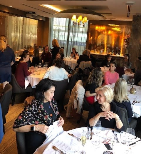Third-party planner luncheon