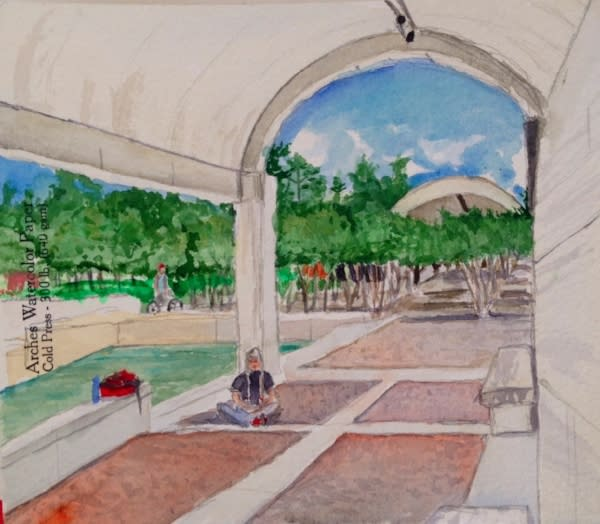 Kimbell Water Color