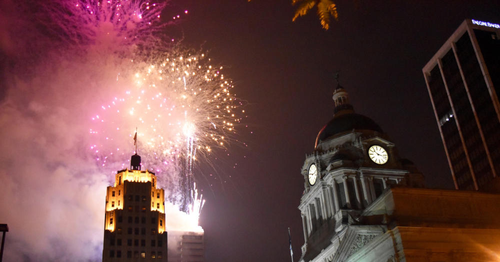 Downtown Fort Wayne Fireworks Show