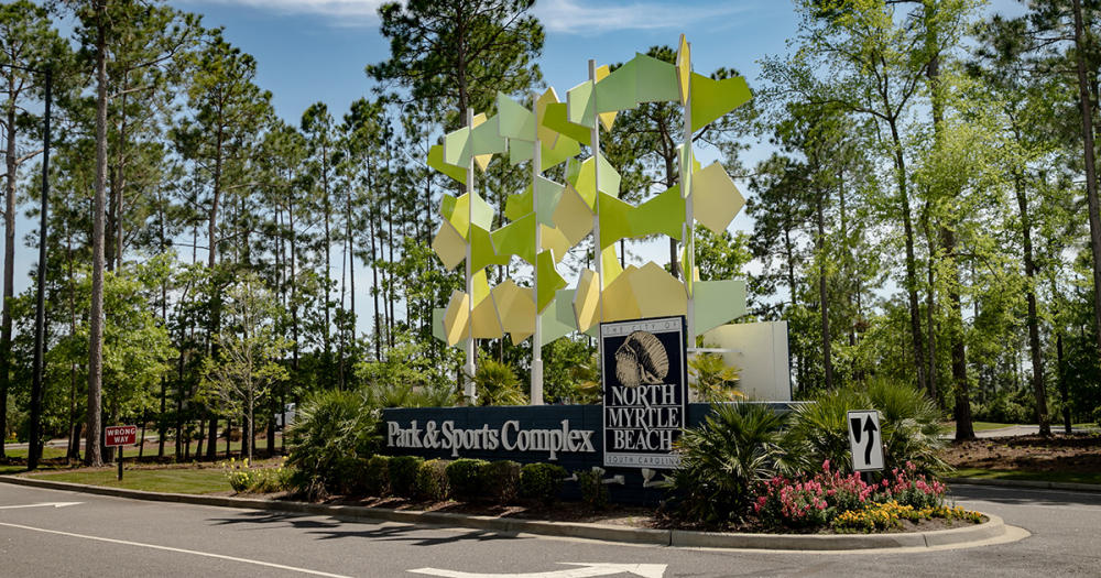 North Myrtle Beach Park & Sports Complex signage
